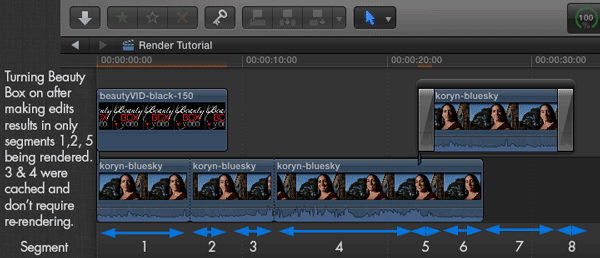 how to make final cut pro render