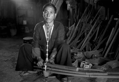 Laos Musician